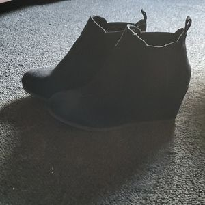Maurices wedge booties